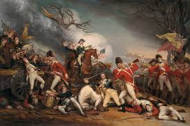 john trumbull the of general mercer at the battle of princeton january 3