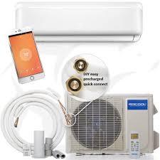 mrcool diy series ductless mini split heat pump system 16 seer 36 000 btu with wifi for reviews s more growershouse