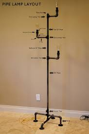 Floor Lamp Coat Rack How To Make An Industrial Pipe Floor Lamp Dominick Likes The Edison 20