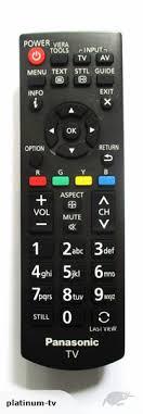 panasonic tv controller. click to enlarge photo panasonic tv controller
