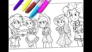 my little pony coloring pages mlp coloring for kids equestria s