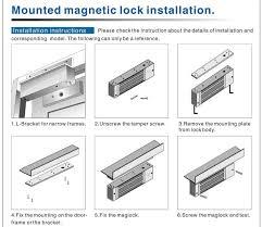 sliding glass door lock instructions designs