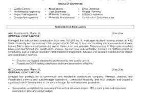 general contractor resume general contractor resume example  general contractor