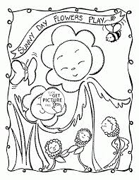 Summer Farm Coloring Pages For Kids Printable Coloring Page For Kids
