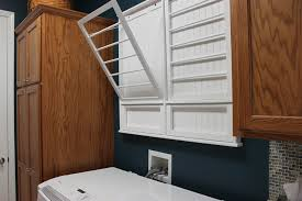 Innovative wall mounted drying rack in Laundry Room Traditional with Laundry  Drying Rack next to Slop