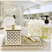 Decorative Bathroom Tray hot sale 100 Diamond Lattice Guest Towel Holder Decorative 47