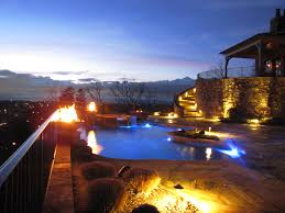 home swimming pools at night. Swimming Pool Night Shots Negative Edge Home Pools At