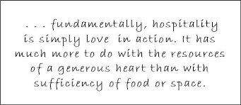 Christian Hospitality Quotes Best Of Cultivating Hospitality Christine Pohl Living As Apprentices