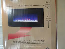 muskoka curved wall mount electric fireplace costco 10