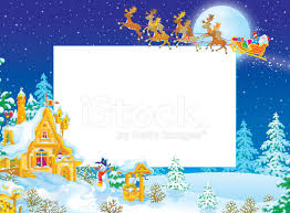 christmas santa borders and frames. Contemporary Christmas Christmas Frame  Border With Santa Claus Intended Borders And Frames S