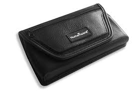 image of prodigi tablet deluxe leather carrying case with belt clip