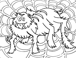 Small Picture Halloween Spider Coloring Pages Printable Coloring Coloring Pages