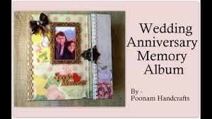 Anniversary Memory Album Scrapbook First Wedding Anniversary Gift