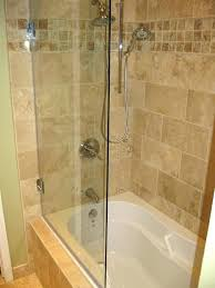 glass shower doors for tub outstanding how to install on awesome half door inside bathtub bath