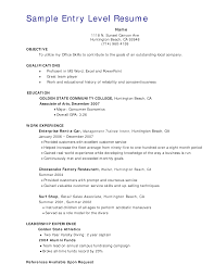 Entry Level Sales Associate Resumes Entry Level Retail Sales Resume Templates At