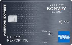 American Express Marriott Bonvoy Business Credit Card From Amex Open