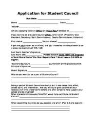 best student council images student council ideas  student council application