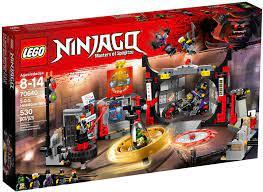 Đồ Chơi LEGO Ninjago 70640 - Sở Chỉ Huy S.O.G (LEGO Ninjago 70640 S.O.G.  Headquarters)