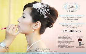 wedding actual day bridal makeup promotion