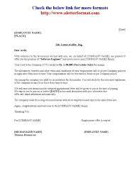 Hr Offer Letter Format Template Source On Epigrams