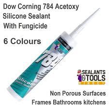 dow corning dowsil 784 silicone sealant clear aluminium white grey black brown
