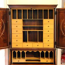 small secretary desk image of secretary desk hutch antique small secretary desk with hutch