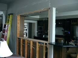 average cost of removing a load bearing wall cost to remove load bearing wall remove kitchen average cost of removing