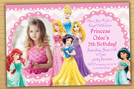 disney princess birthday invitations com disney princess birthday invitations for a best birthday using terrific invitation templates printable 12