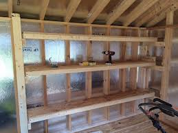 11 rectangular shelving shed storage systems