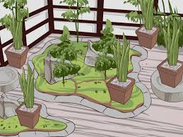 Japanese Garden Theme Theme And Feature Gardens How To Articles From Wikihow