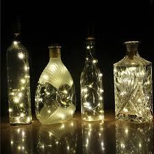 wine bottle lighting. Delighful Wine 1PCS 2m 20LED Battery Powered Wine Bottle Lights 200CM Cork Shaped String  Christmas Holiday Decoration With Lighting I
