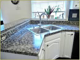 Imitation Granite Countertops Kitchen Fake Granite Diy Painted Faux Granite Countertops Recycled Glass