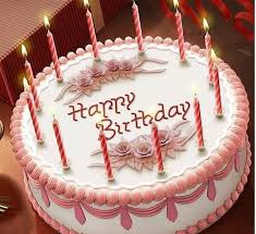 Happy Birthday Cake With Name Edit For Facebook Hd Wallpaper