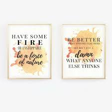 Quote Prints New Quote Prints Gifts For People Who Like Grey's Anatomy POPSUGAR