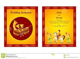 indian wedding invitation card stock vector image 48582428 Indian Wedding Card Free Vector card illustration indian invitation vector wedding indian wedding card design vector free download