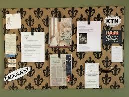 Diy Bulletin Board Design Easy Diy Bulletin Board The Thyme Savor