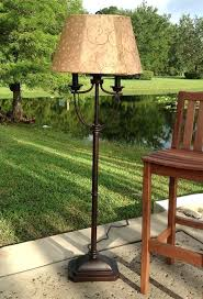 awesome outdoor patio floor lamps image lamp living concepts picture