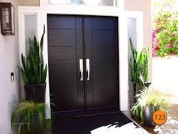 black double front doors.  Black Modern 60 And Black Double Front Doors