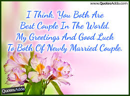 Happy Married Life Messages and Wishes in English | QuotesAdda.com ...