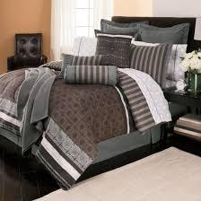 kenneth cole reaction home oxford comforter in grey stripe mens set bedroom furniture bedding sets full