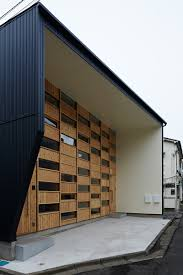 office facade design. checkered house by takeshi shikauchi architect office facade design