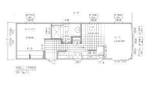 single wide mobile homes floor plans