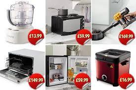 aldi s new compact range includes a dishwasher and fridge