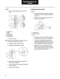 Tie Rod End Taper Chart Installing Dual Draw Keys Spicer Dana Spicer Steer Axles