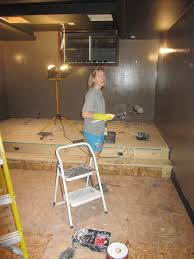 theater seat riser.  Riser Picture Of How To A Build Riser For Home Theater Seating To Seat H