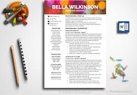 Creative Resume Template Modern Resume Design Professional Resume