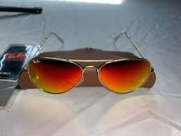 Rb3025 Size Chart Details About Ray Ban Aviator Sunglasses Rb3025 58mm 112 69 Gold Frame With Orange Flash Lens