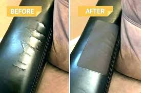 leather couch tear repair cats