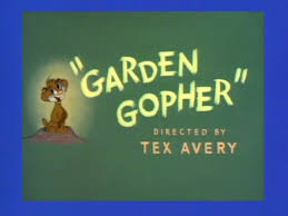 here s another of my favorite spike cartoons notice they re all my favorites garden gopher i scanned some layouts and a model sheet from this short