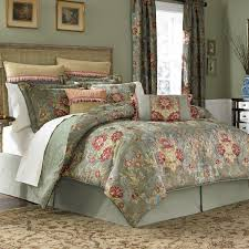 beautiful blue comforter sets with curtains
